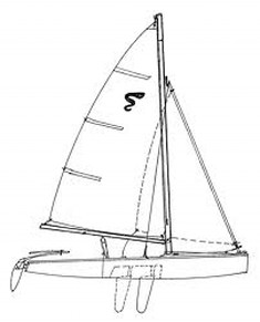 Image result for sidewinder sailboat